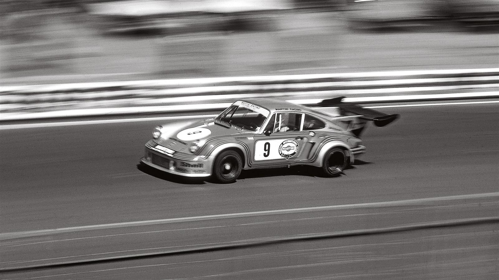 911Carrera RSR Turbo at Le Mans in 1974